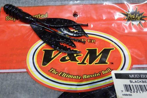 V&M Bait MUD BUG#BLK/BLCKBERRY
