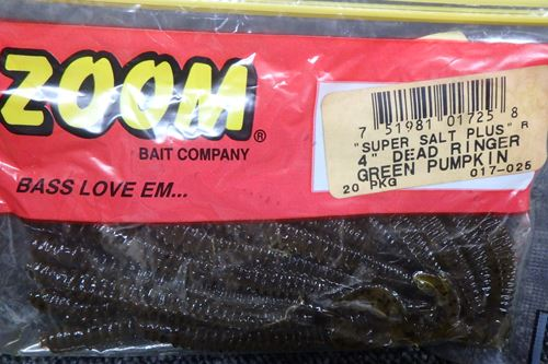 ZOOM SUPER SALT PLUS 4`ダートリンガー#GREEN PUMPKIN