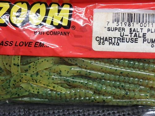 ZOOM SUPER SALT PLUS U-TALE#CHARTREUSE PUMPKIN(特価)